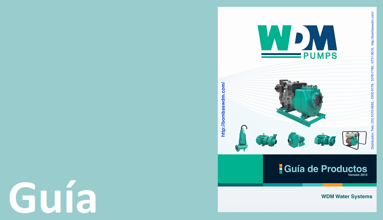 Guía de Productos | Bombas: WDM Pumps | WDM Water Systems