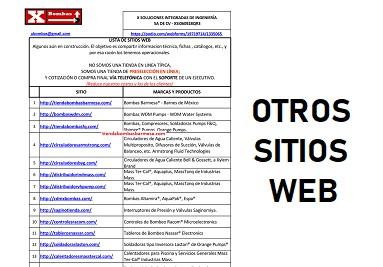 Visite Todos Nuestros Sitios Web