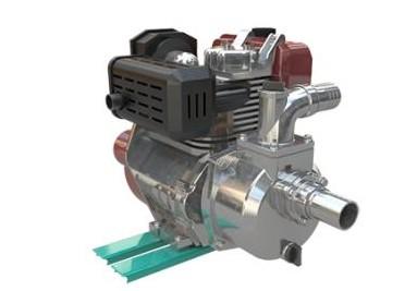 AAD Bomba Autocebante Aluminio a Diesel