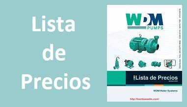 Lista de Precios WDM Pumps 2018